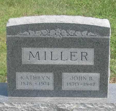 MILLER, JOHN B. - Dundy County, Nebraska | JOHN B. MILLER - Nebraska Gravestone Photos