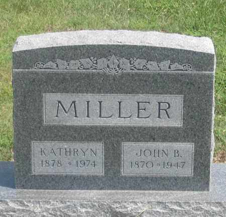 MILLER, KATHRYN - Dundy County, Nebraska | KATHRYN MILLER - Nebraska Gravestone Photos