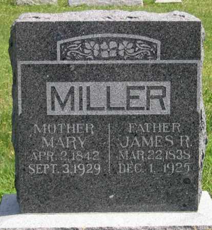 MILLER, JAMES R. - Dundy County, Nebraska | JAMES R. MILLER - Nebraska Gravestone Photos