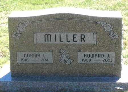 MILLER, HOWARD J. - Dundy County, Nebraska | HOWARD J. MILLER - Nebraska Gravestone Photos