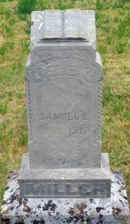 MILLER, SAMUEL LAFAYETTE - Dundy County, Nebraska | SAMUEL LAFAYETTE MILLER - Nebraska Gravestone Photos