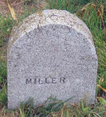 MILLER, UNK - Dundy County, Nebraska   UNK MILLER - Nebraska Gravestone Photos