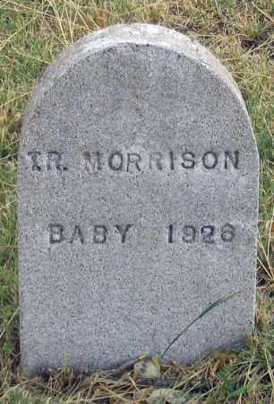 MORRISON, T. R. BABY 1926 - Dundy County, Nebraska | T. R. BABY 1926 MORRISON - Nebraska Gravestone Photos