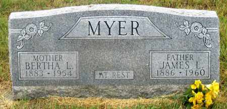 MYER, BERTHA LUREEN - Dundy County, Nebraska | BERTHA LUREEN MYER - Nebraska Gravestone Photos