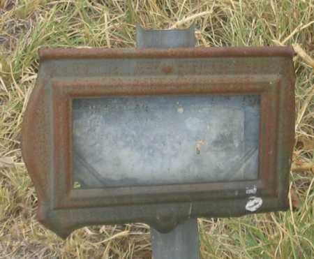 NO NAME 4, UNK - Dundy County, Nebraska   UNK NO NAME 4 - Nebraska Gravestone Photos