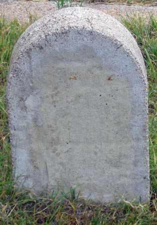 NO NAME 6, UNK - Dundy County, Nebraska   UNK NO NAME 6 - Nebraska Gravestone Photos