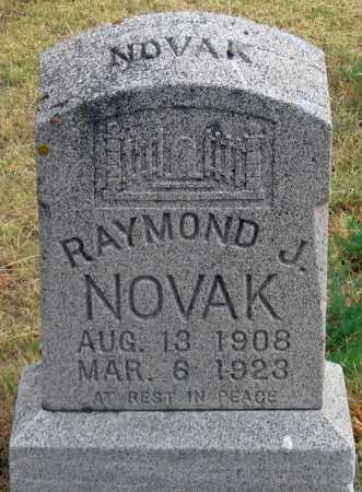 NOVAK, RAYMOND J. - Dundy County, Nebraska | RAYMOND J. NOVAK - Nebraska Gravestone Photos