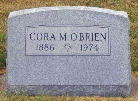 O'BRIEN, CORA M. - Dundy County, Nebraska | CORA M. O'BRIEN - Nebraska Gravestone Photos