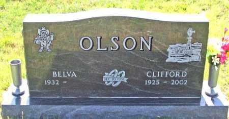 OLSON, CLIFFORD - Dundy County, Nebraska | CLIFFORD OLSON - Nebraska Gravestone Photos