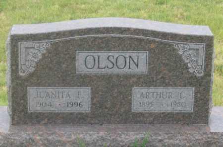 OLSON, JUANITA E. - Dundy County, Nebraska | JUANITA E. OLSON - Nebraska Gravestone Photos