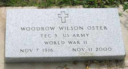 OSTER, WOODROW WILSON - Dundy County, Nebraska | WOODROW WILSON OSTER - Nebraska Gravestone Photos