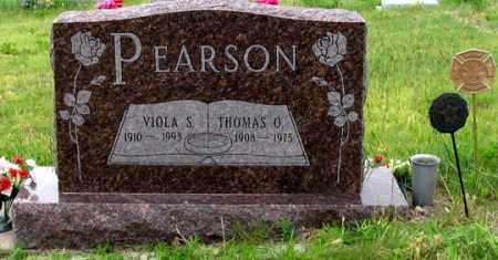 PEARSON, VIOLA S. - Dundy County, Nebraska | VIOLA S. PEARSON - Nebraska Gravestone Photos