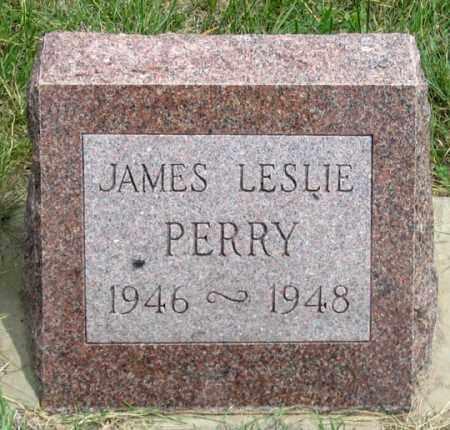 PERRY, JAMES LESLIE - Dundy County, Nebraska | JAMES LESLIE PERRY - Nebraska Gravestone Photos