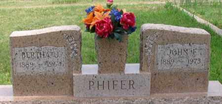 PHIFER, JOHN F. - Dundy County, Nebraska | JOHN F. PHIFER - Nebraska Gravestone Photos