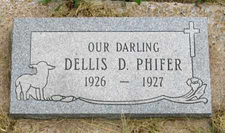 PHIFER, DELLIS DANIE - Dundy County, Nebraska   DELLIS DANIE PHIFER - Nebraska Gravestone Photos