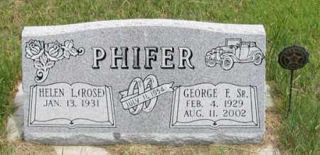 PHIFER, HELEN L. - Dundy County, Nebraska | HELEN L. PHIFER - Nebraska Gravestone Photos