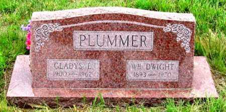 PLUMMER, GLADYS E. - Dundy County, Nebraska | GLADYS E. PLUMMER - Nebraska Gravestone Photos