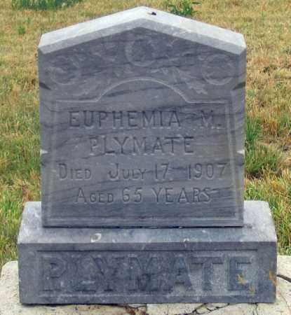 PLYMATE, EUPHEMIA MARIE - Dundy County, Nebraska   EUPHEMIA MARIE PLYMATE - Nebraska Gravestone Photos