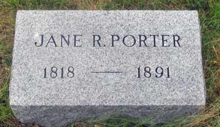 PORTER, JANE R. - Dundy County, Nebraska   JANE R. PORTER - Nebraska Gravestone Photos
