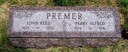 REES PREMER, EDNA REES - Dundy County, Nebraska | EDNA REES REES PREMER - Nebraska Gravestone Photos