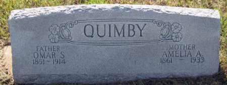 QUIMBY, AMELIA A. - Dundy County, Nebraska | AMELIA A. QUIMBY - Nebraska Gravestone Photos