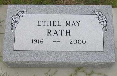 CRABTREE RATH, ETHEL MAY - Dundy County, Nebraska   ETHEL MAY CRABTREE RATH - Nebraska Gravestone Photos