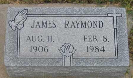 RAYMOND, JAMES - Dundy County, Nebraska   JAMES RAYMOND - Nebraska Gravestone Photos