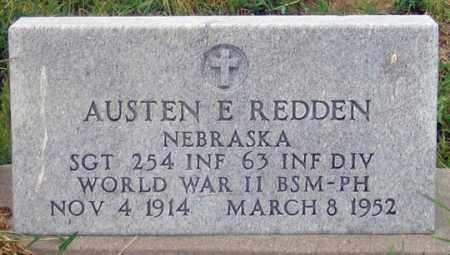 REDDEN, AUSTEN E. - Dundy County, Nebraska   AUSTEN E. REDDEN - Nebraska Gravestone Photos