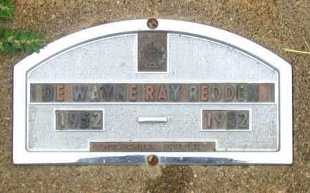 REDDEN, DEWAYNE RAY - Dundy County, Nebraska | DEWAYNE RAY REDDEN - Nebraska Gravestone Photos