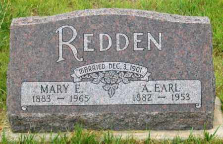 REDDEN, MARY E. - Dundy County, Nebraska | MARY E. REDDEN - Nebraska Gravestone Photos