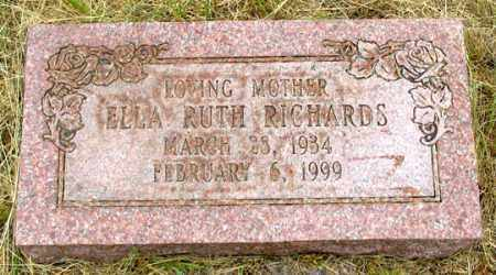 RICHARDS, ELLA RUTH - Dundy County, Nebraska | ELLA RUTH RICHARDS - Nebraska Gravestone Photos