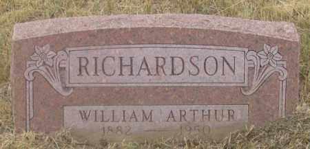 RICHARDSON, WILLIAM ARTHUR - Dundy County, Nebraska | WILLIAM ARTHUR RICHARDSON - Nebraska Gravestone Photos
