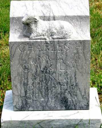 RITNER, CHARLES HARRY - Dundy County, Nebraska | CHARLES HARRY RITNER - Nebraska Gravestone Photos