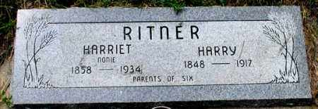 RITNER, HARRY - Dundy County, Nebraska | HARRY RITNER - Nebraska Gravestone Photos