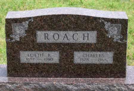ROACH, LOTTIE K. - Dundy County, Nebraska | LOTTIE K. ROACH - Nebraska Gravestone Photos