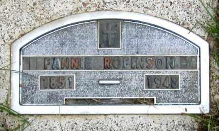 ROBINSON, FANNIE GRACE - Dundy County, Nebraska | FANNIE GRACE ROBINSON - Nebraska Gravestone Photos
