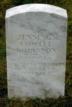 ROBINSON, JENNINGS LOWELL - Dundy County, Nebraska | JENNINGS LOWELL ROBINSON - Nebraska Gravestone Photos