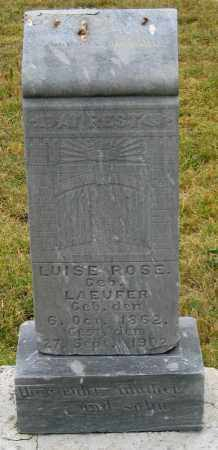 ROSE, LUISE (LOUIS?) - Dundy County, Nebraska | LUISE (LOUIS?) ROSE - Nebraska Gravestone Photos