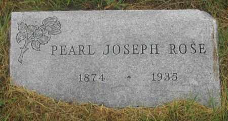 ROSE, PEARL JOSEPH - Dundy County, Nebraska   PEARL JOSEPH ROSE - Nebraska Gravestone Photos