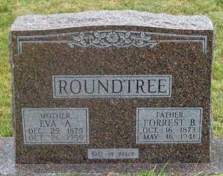 ROUNDTREE, FORREST B. - Dundy County, Nebraska | FORREST B. ROUNDTREE - Nebraska Gravestone Photos