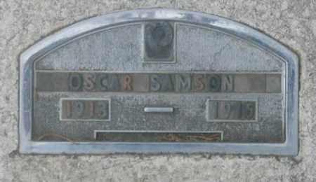 SAMSON, OSCAR ELI - Dundy County, Nebraska | OSCAR ELI SAMSON - Nebraska Gravestone Photos