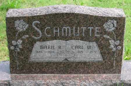 SCHMUTTE, MARIE R. - Dundy County, Nebraska | MARIE R. SCHMUTTE - Nebraska Gravestone Photos