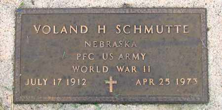 SCHMUTTE, VOLAND H. - Dundy County, Nebraska | VOLAND H. SCHMUTTE - Nebraska Gravestone Photos