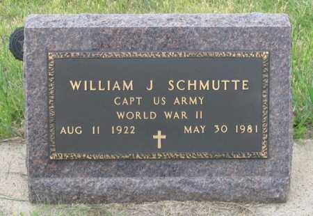 SCHMUTTE, WILLIAM J. - Dundy County, Nebraska   WILLIAM J. SCHMUTTE - Nebraska Gravestone Photos