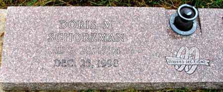 WILEY SCHORZMAN, DORIS M. - Dundy County, Nebraska | DORIS M. WILEY SCHORZMAN - Nebraska Gravestone Photos