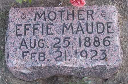 SMITH, EFFIE MAUDE - Dundy County, Nebraska   EFFIE MAUDE SMITH - Nebraska Gravestone Photos