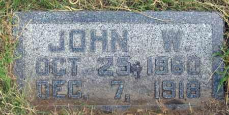 SMITH, JOHN W. - Dundy County, Nebraska | JOHN W. SMITH - Nebraska Gravestone Photos