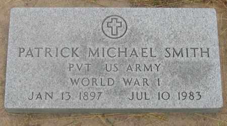SMITH, PATRICK MICHAEL - Dundy County, Nebraska | PATRICK MICHAEL SMITH - Nebraska Gravestone Photos