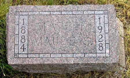 SPEARS, MAUDE S. - Dundy County, Nebraska | MAUDE S. SPEARS - Nebraska Gravestone Photos