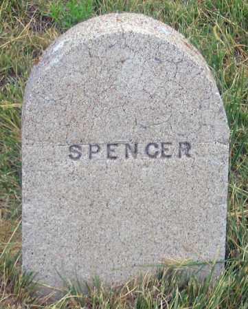 SPENCER, UNK - Dundy County, Nebraska | UNK SPENCER - Nebraska Gravestone Photos